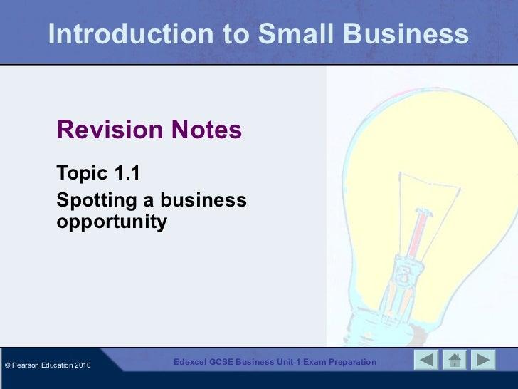 exam notes economics gcse