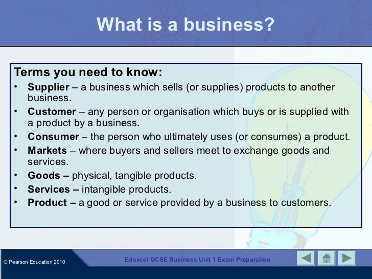 gcse business key terms Listed below are 50 key terms that aqa buss1 students need to ensure they understand and can define / explain in the exam a process through which a business increases the worth of the resources included in production so that customers perceive the product to be worth more than the cost of the.