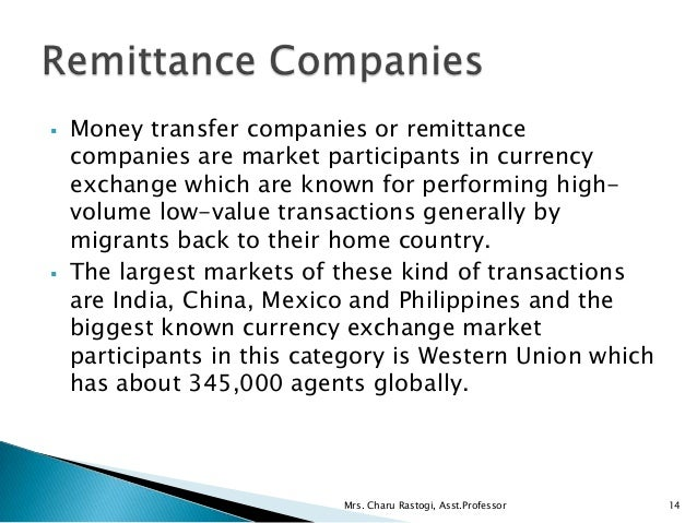 Trade in foreign currency
