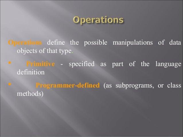 Unit 2 Principles of Programming Languages