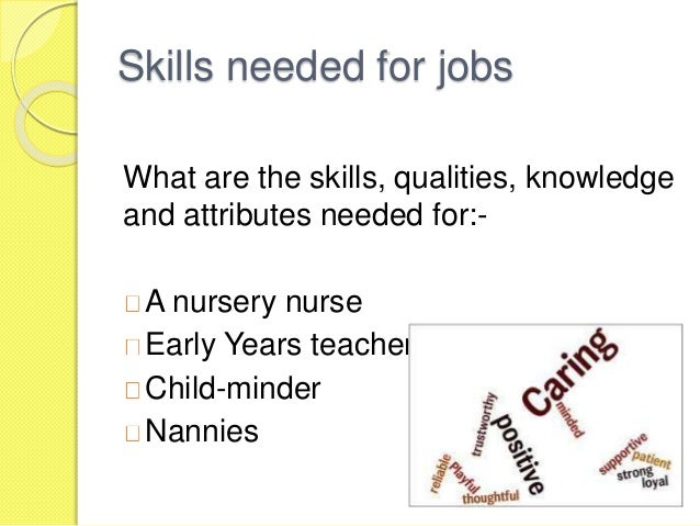 job description for a childminder essay Interviewing childminders: sample questions previous jobs do you have other interviews / job offers at the moment what is your salary expectation.