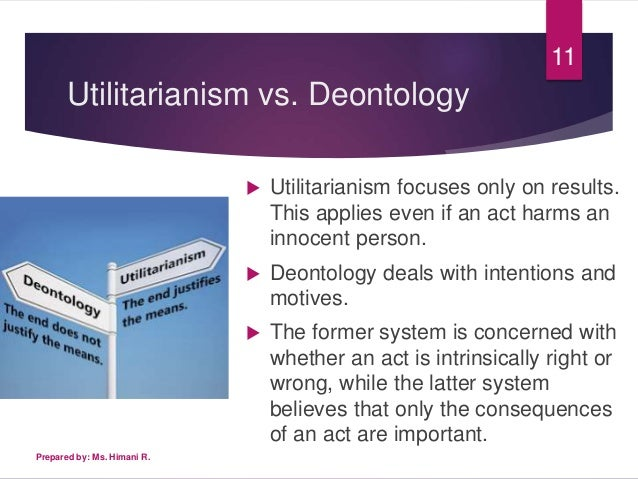 Essays on utilitarianism and deontology