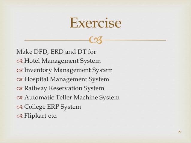 21 decision table of lms 22 make dfd erd - Dfd Erd