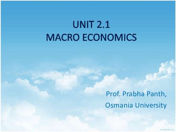 Prof. Prabha Panth,Osmania University