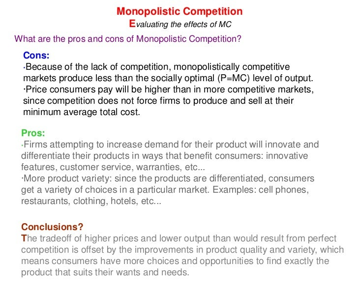 evaluating the effectiveness of an oligopoly Firms to assess the extent to which a given market is oligopolistic, the  this measure, stdm, is effective in capturing the dimensions of.