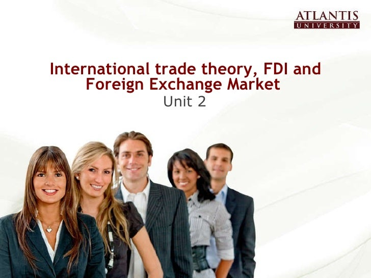 Foreign exchange market model