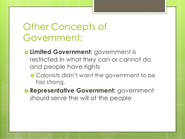 Unit 2 Origins of American Government