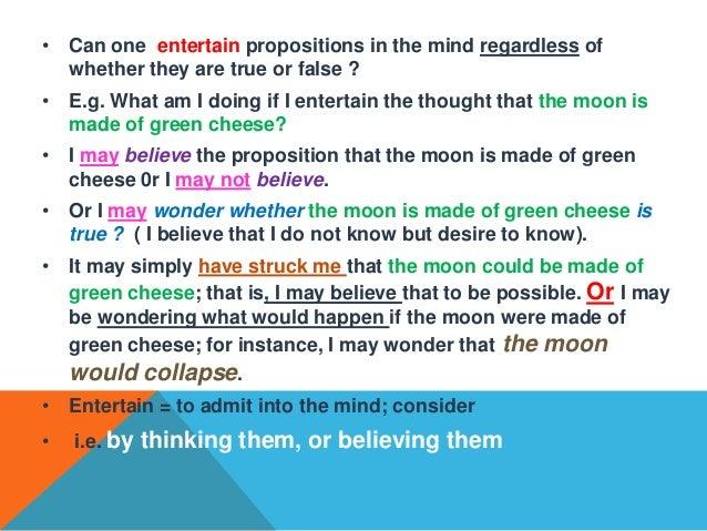 relationship among language thought and utterance sentence