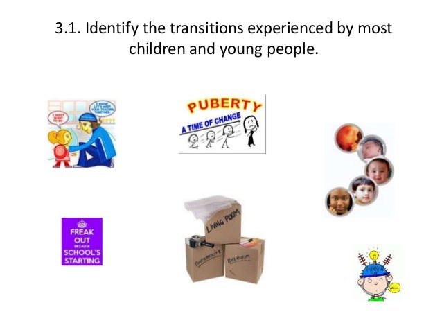 Describe with examples how transitions may affect children s behaviour and development