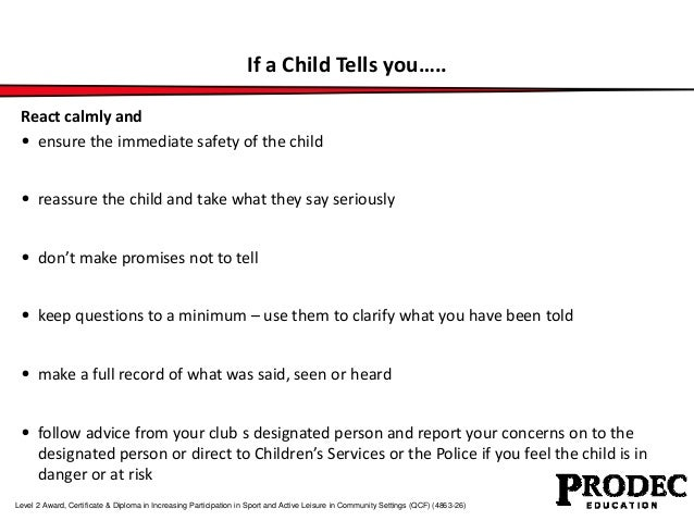 Unit 301 understanding safeguarding young