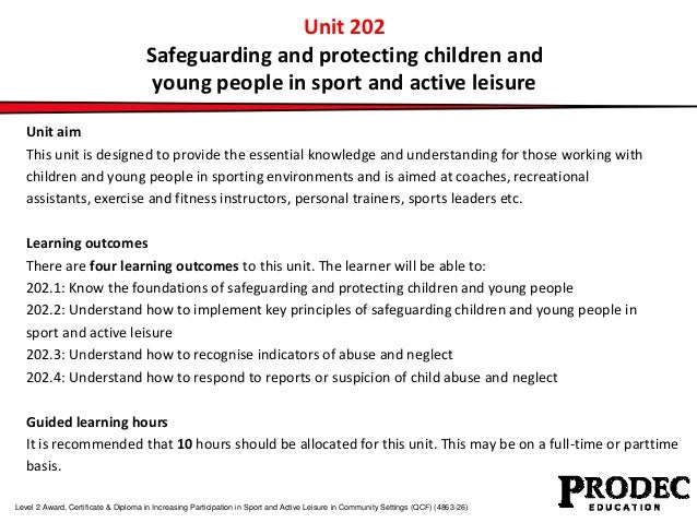 safeguarding the children 202 Ccld 2023 support the safeguarding of children from abuse ccld 2024 encourage children's positive behaviour about this unit.