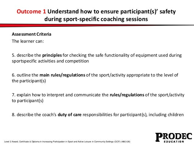 Unit 054 principles for implementing duty
