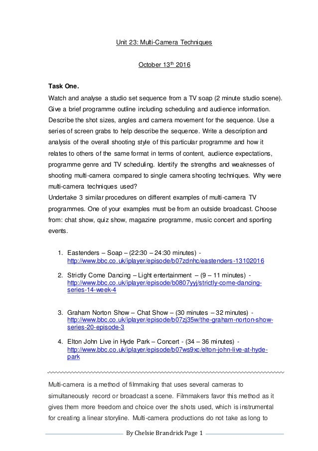 an analysis of television chat shows essay