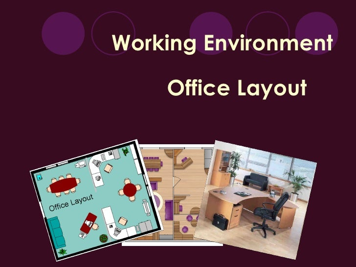 Working Environment Office Layout