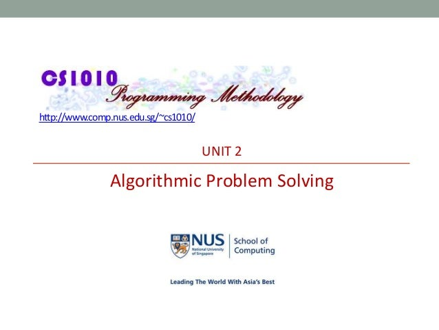 Algorithmic problem solving roland backhouse