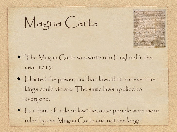 magnacarta assignment Students will understand how the magna carta relates to the development of  constitutional law in the  reminder that writing assignment is due tuesday.
