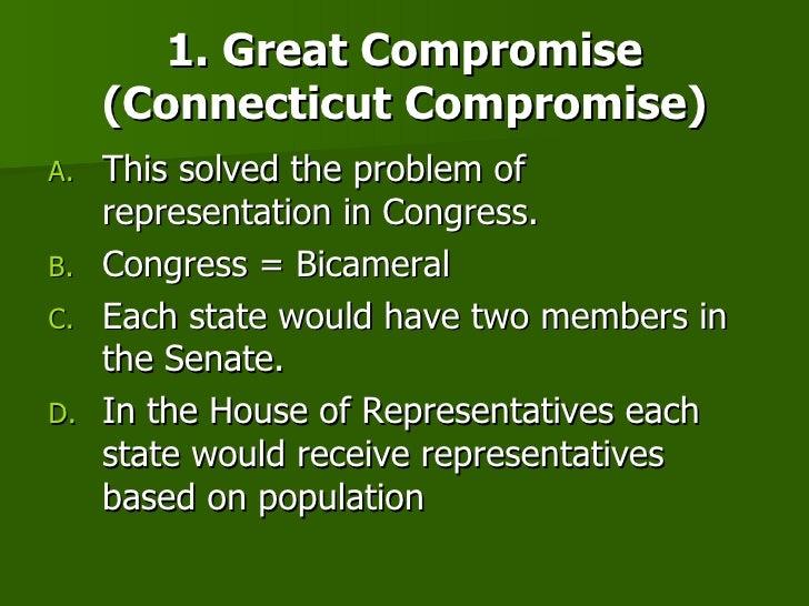 Define compromises