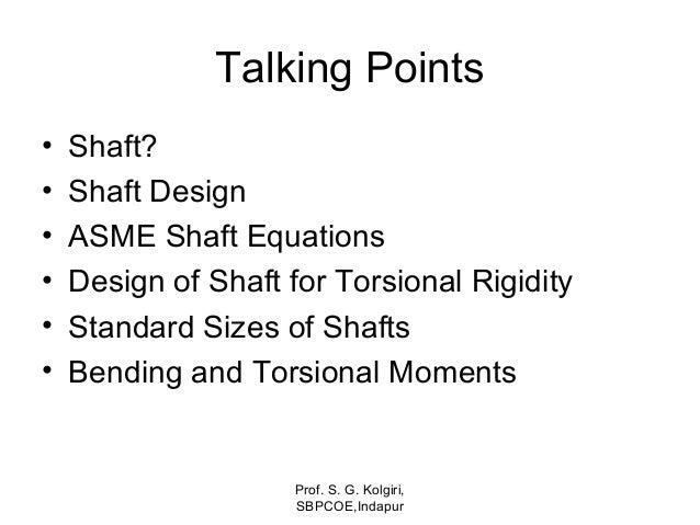 Unit 2 design of shaft Slide 2