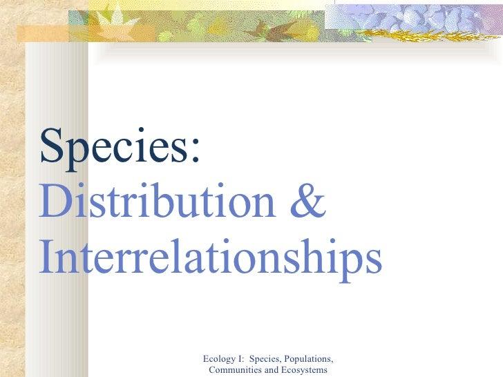 species population community ecosystem