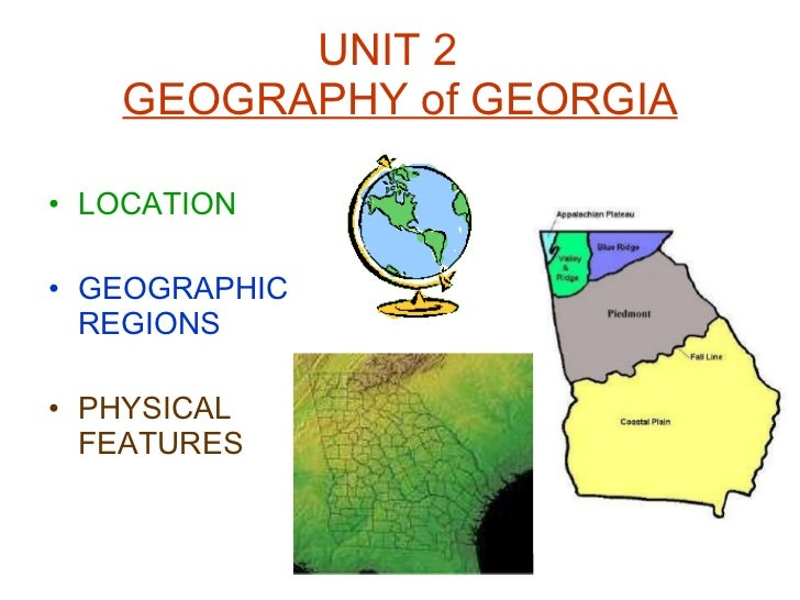 Georgia S Regions And Rivers Ppt
