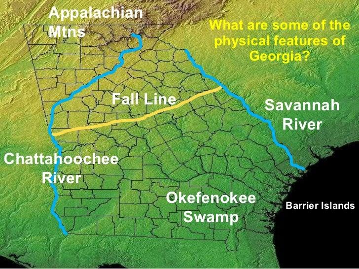 Georgias Regions and Rivers ppt