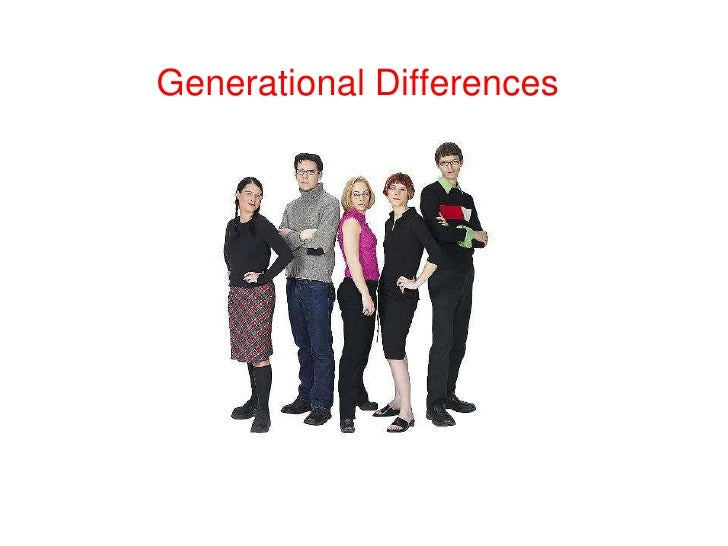 Generational Differences<br />