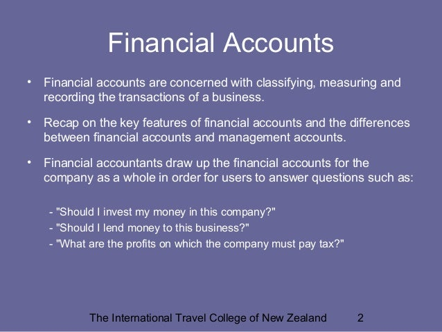 Finance and sustainable tourism