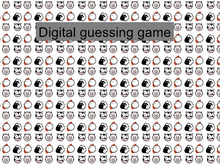 Digital guessing game