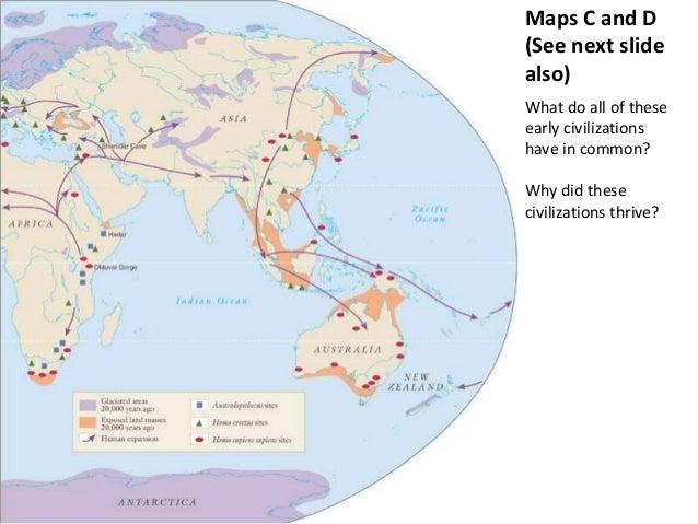 AP World Unit 2 Map Activity