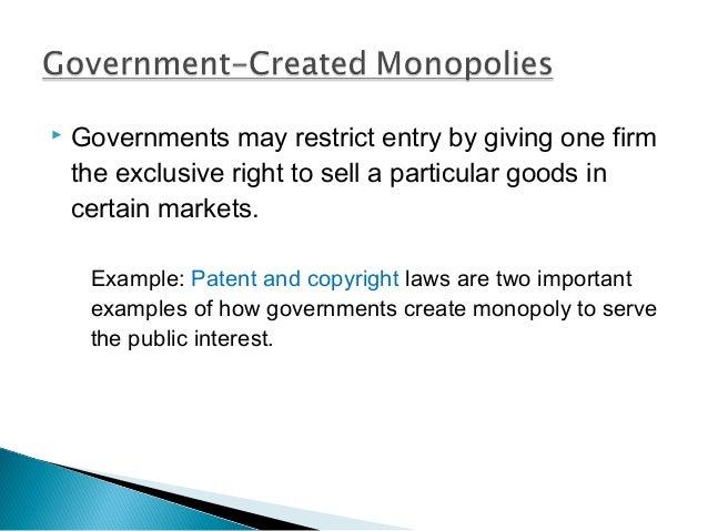 Natural Monopoly