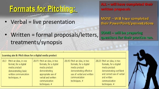 PlanningPlanningUnit 2 Planning And Pitching 64