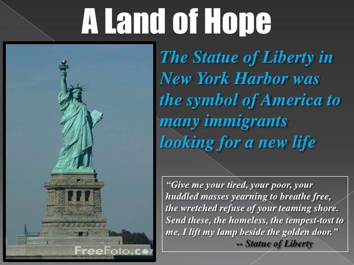 I Lift My Lamp Beside The Golden Door Statue Of Liberty