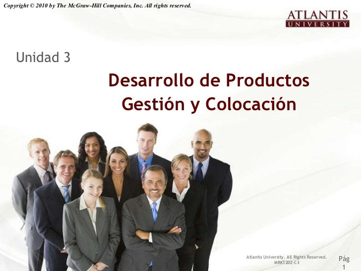 Copyright © 2010 by The McGraw-Hill Companies, Inc. All rights reserved.    Unidad 3                                      ...