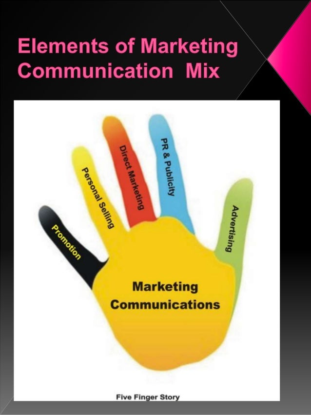 Communication mix on services marketing