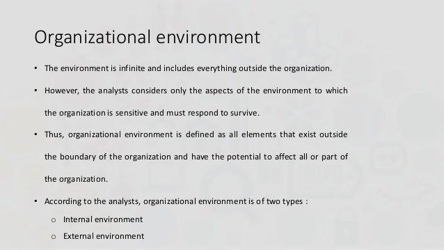 internal and external factors that affect an organization