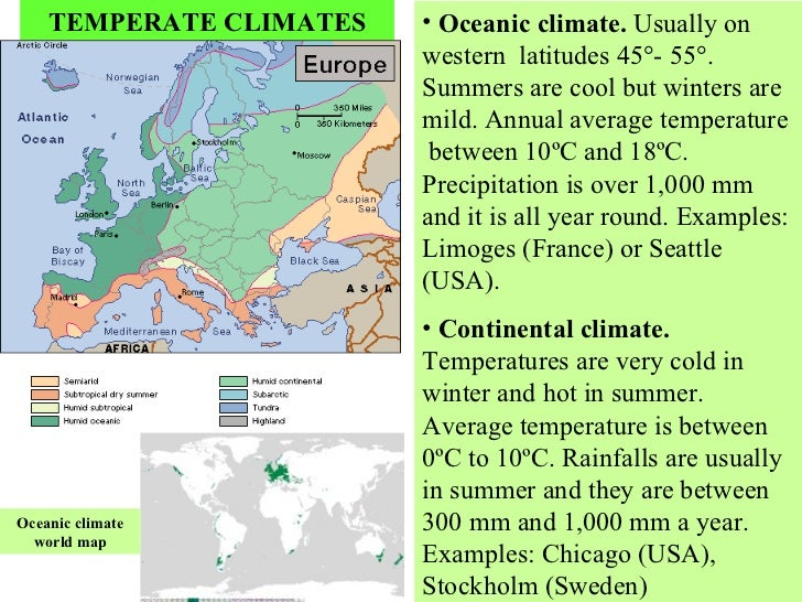 Unit Climate And Living Beingsppt - Sweden climate zone map