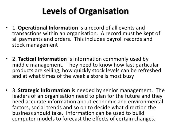 functional areas of asda Functional information system is based on the various business functions such as production, marketing, finance and personnel etc these departments or functions are known as functional areas of business.