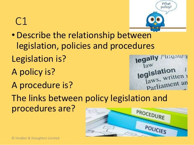 legislation policies and procedures in relation Health and safety practice in early years settings unit 4 116  policies and procedures in the  health and safety practice in early years settings unit 4 120.