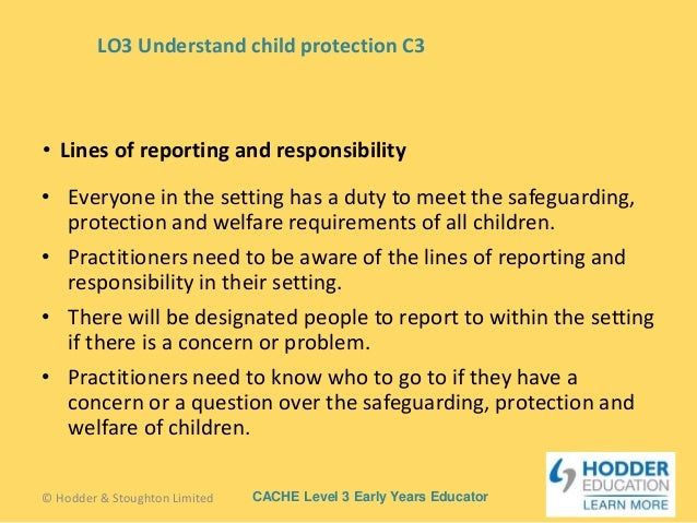 describe the rights children young people and their carers have in situations where harm or abuse is Describe the roles and  young person alleges harm or abuse in line  explain the rights that children, young people and their carers have in situations.