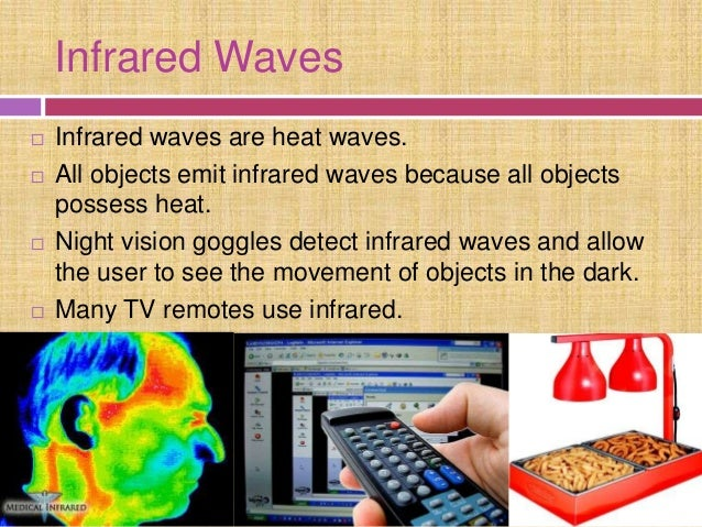 Infrared Waves Examples electromagnetic...