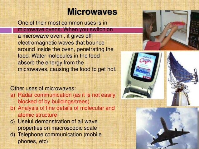 uses of electromagnetic waves By convention, and to simplify illustrations, the vectors representing the electric and magnetic oscillating fields of electromagnetic waves are often omitted,.