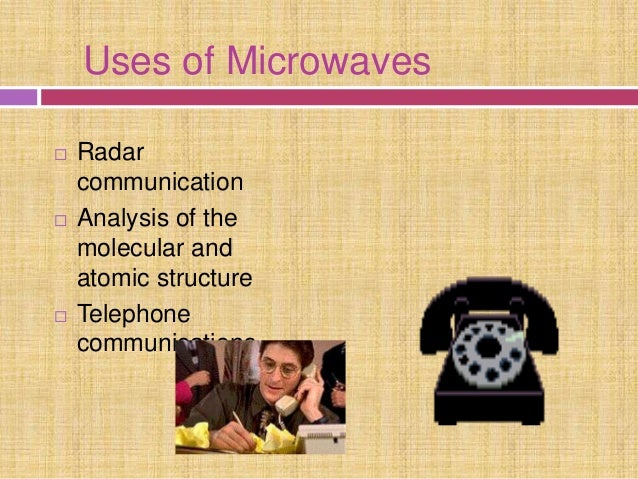Image result for what are the uses of microwave