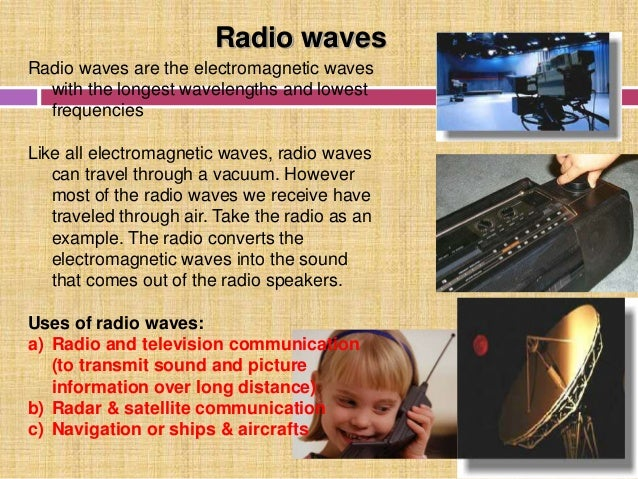 Electromagnetic Spectrum Amp Its Uses