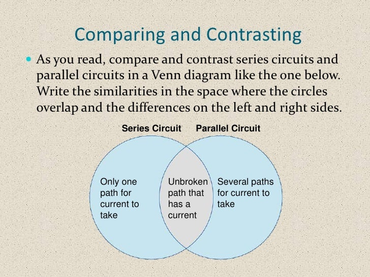 static and current electricity venn diagram acur lunamedia co rh acur lunamedia co Parallel Circuit with Two Batteries Parallel vs Series Circuit Illustration