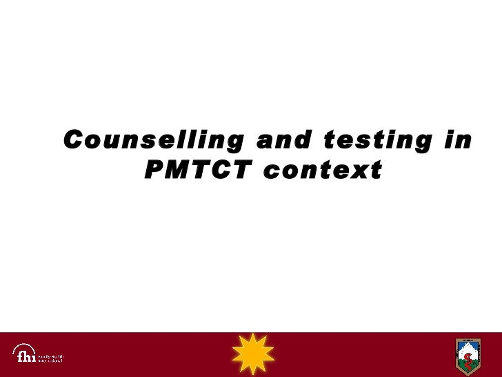 Counselling and testing in PMTCT context