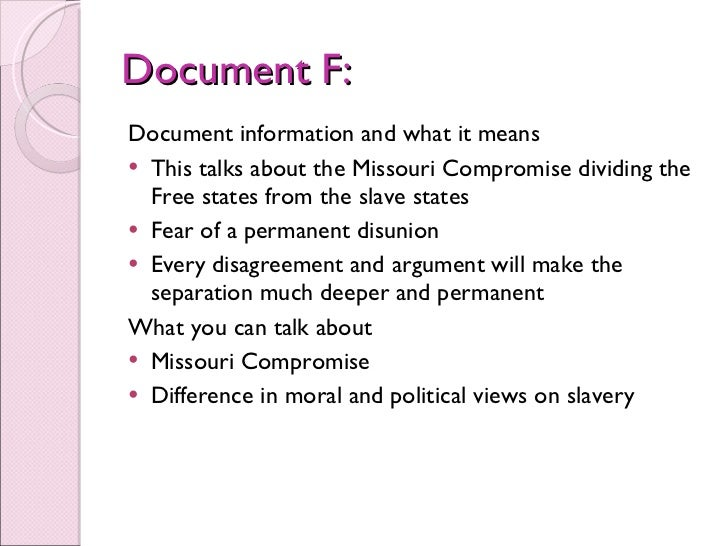 """moral arguments missouri compromise Submitted column: mehan and pierle: """"having the courage to compromise"""" by press release - september 13, 2013 do you remember the history lesson about the great."""