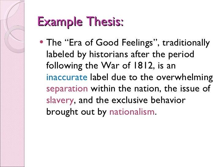Good Character Essay  Essay Generators also Women Essay Era Of Good Feelings Essay Check Essay Online