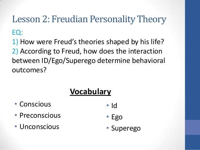 an overview of the different opinions about sigmund freud and his ideas One highly influential set of theories stems from the work of austrian neurologist sigmund freud,  different psychodynamic theories  his field of vision, the.