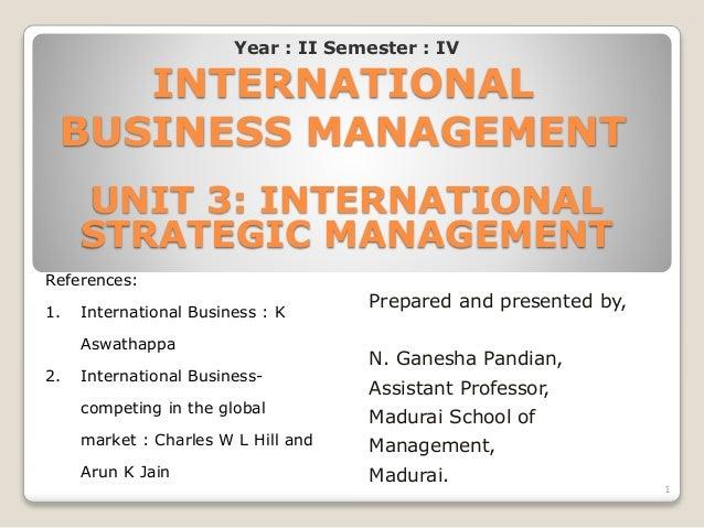 international strategic management pdf