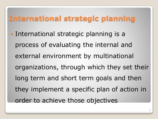 international strategic management process